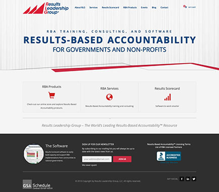 results-leadership-group-website