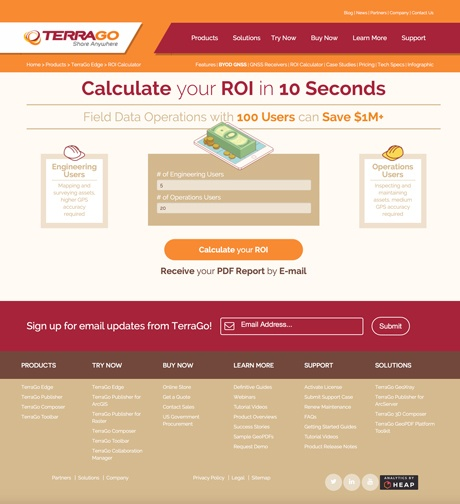 TerraGo ROI Calculator