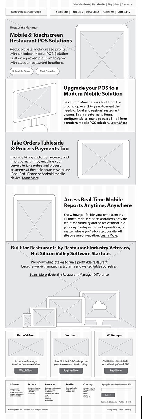 restaurant-manager-website-product-page-wireframe