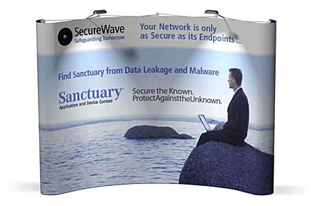 securewave-10x10-tradeshow-booth