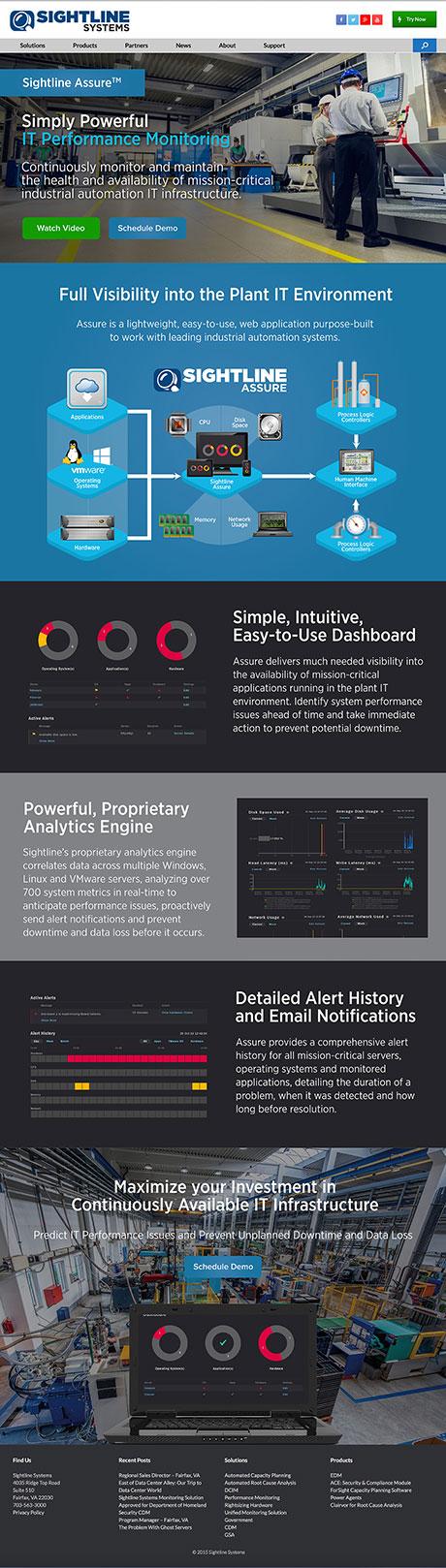 sightline-assure-website-design