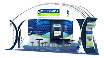 metron-aviation-tradeshow-booth