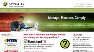 e-security-website-thumbnail