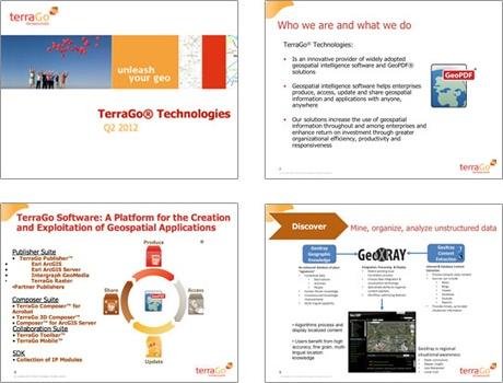TerraGo Sales Presentation Before