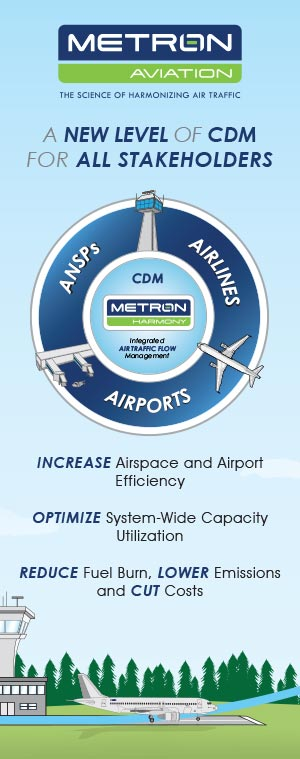 Metron Aviation Tradeshow Booth Panel Graphics
