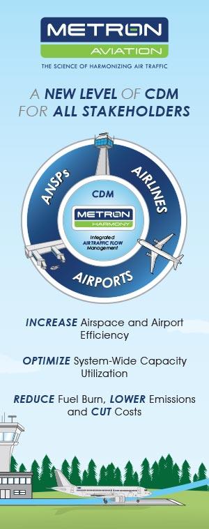 Metron Aviation Tradeshow Booth Panel Graphics