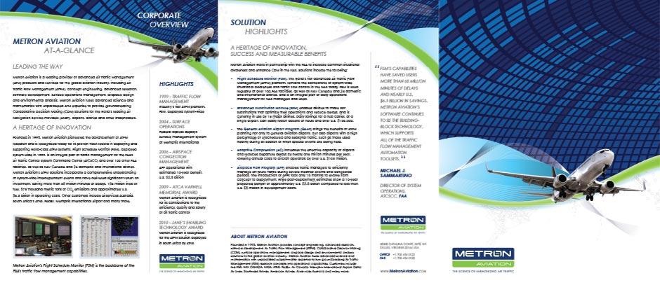 Metron Aviation Brochure