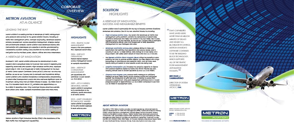 Metron Aviation Brochure