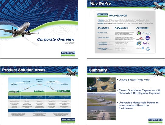 Metron Aviation Sales Presentation