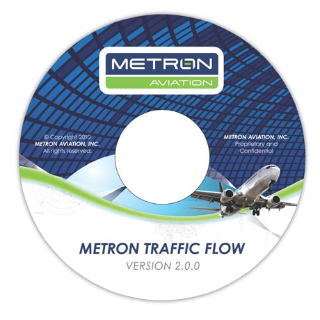 Metron Aviation Software Label