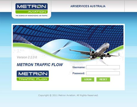 Metron Aviation Software Login