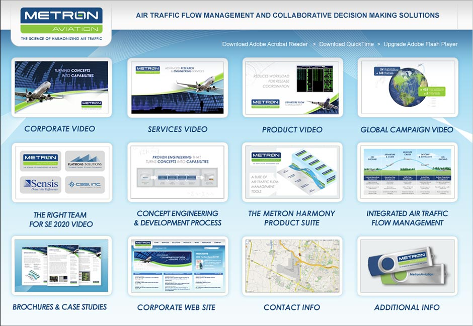 Metron Aviation USB Flash Drive Interface
