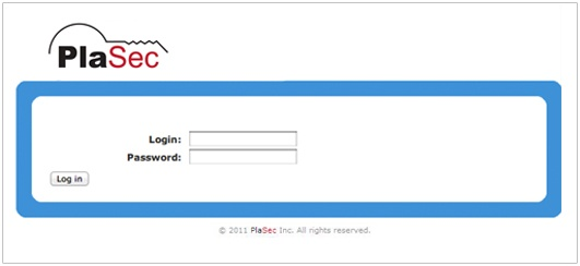PlaSec Software Login