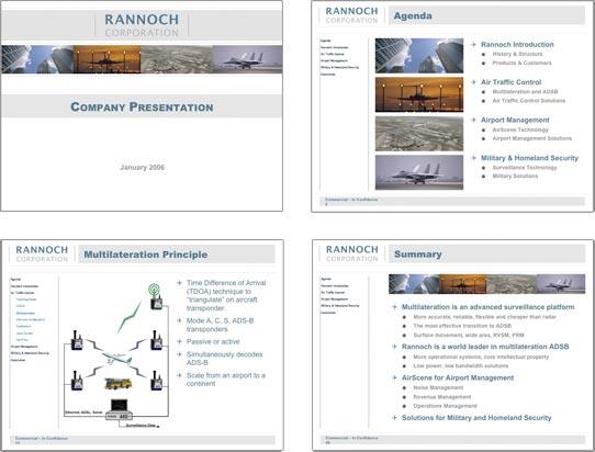 Rannoch Sales Presentation Before