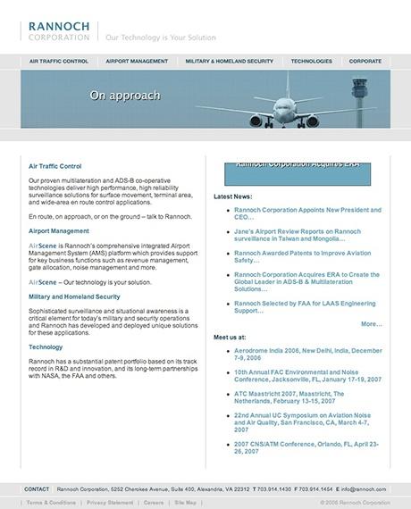 Era Website Before