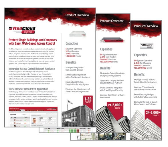 RedCloud Product Datasheets