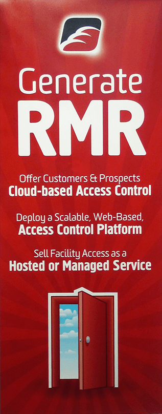 RedCloud RMR Banner Stand