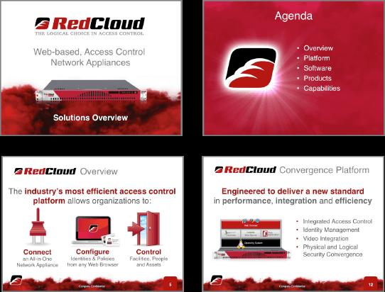 RedCloud Sales Presentation