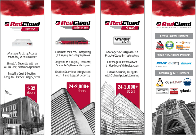 RedCloud Tradeshow Booth Panels