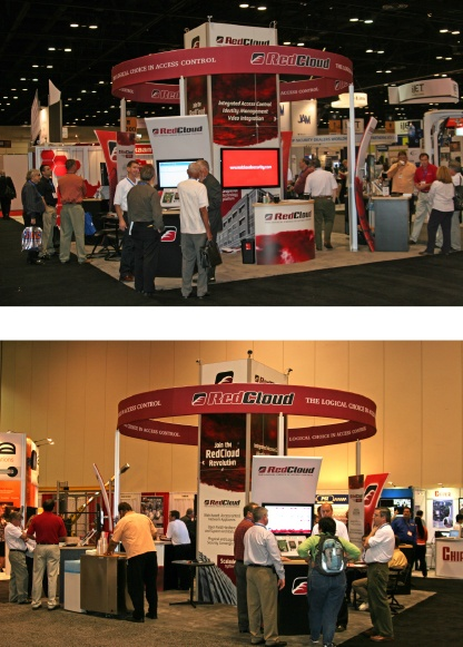 RedCloud Tradeshow Booth Photos